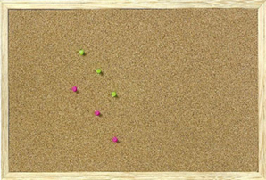 Good Pine Framed Corkboards U2013 Economy