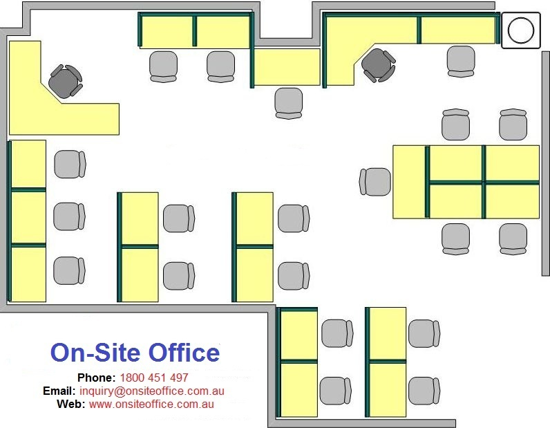 Call Centre Floor Plan Layout Onsite Office Office