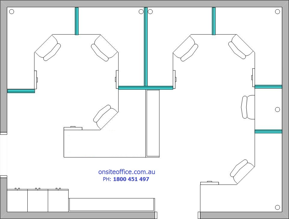 Floor Plan Office Layout 4 Onsite Office Office Furniture Office Chairs Repairs